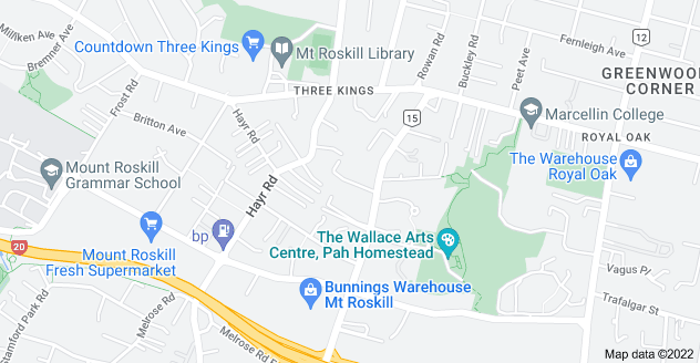 Location of Marie Avenue