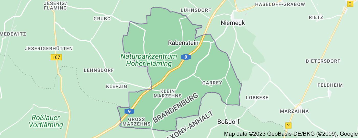 Location of Rabenstein