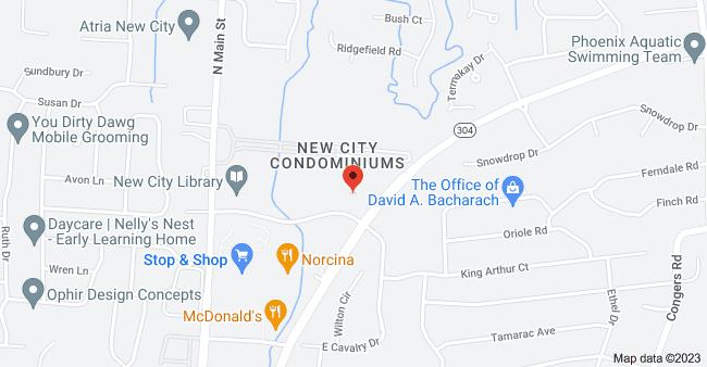 Map of 20 Squadron Blvd, New City, NY 10956
