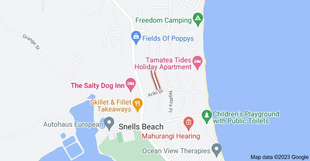 Location of Rawhiti Place
