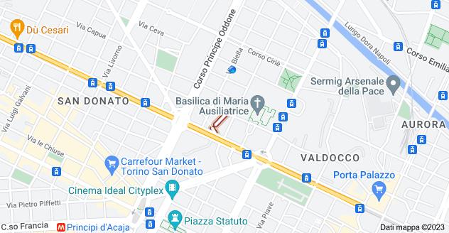 Mappa di: Vicolo Grosso, 10152 Torino TO