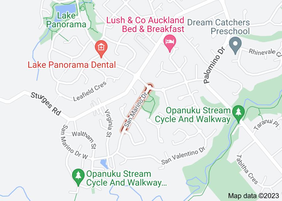 Location of San Marino Drive