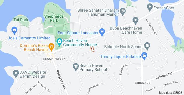 Location of Mavis Place