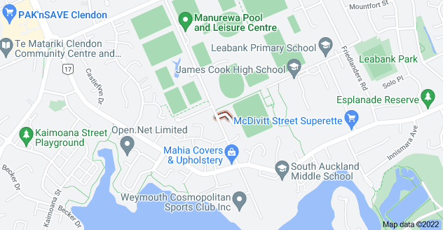 Location of Celmisia Place