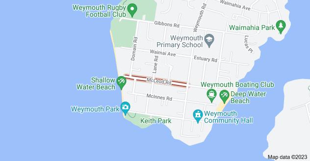 Location of McLeod Road