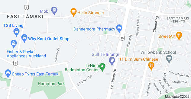 Location of Bernish Place
