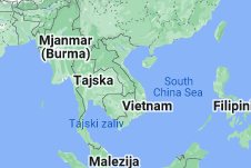 Location of Vietnam
