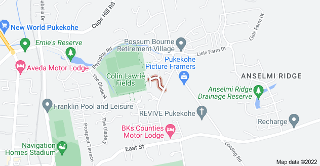Location of Avonbrook Lane