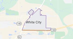 Map of White City, Oregon