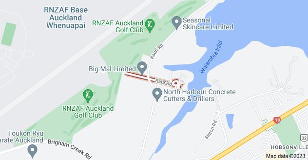 Location of Rata Road