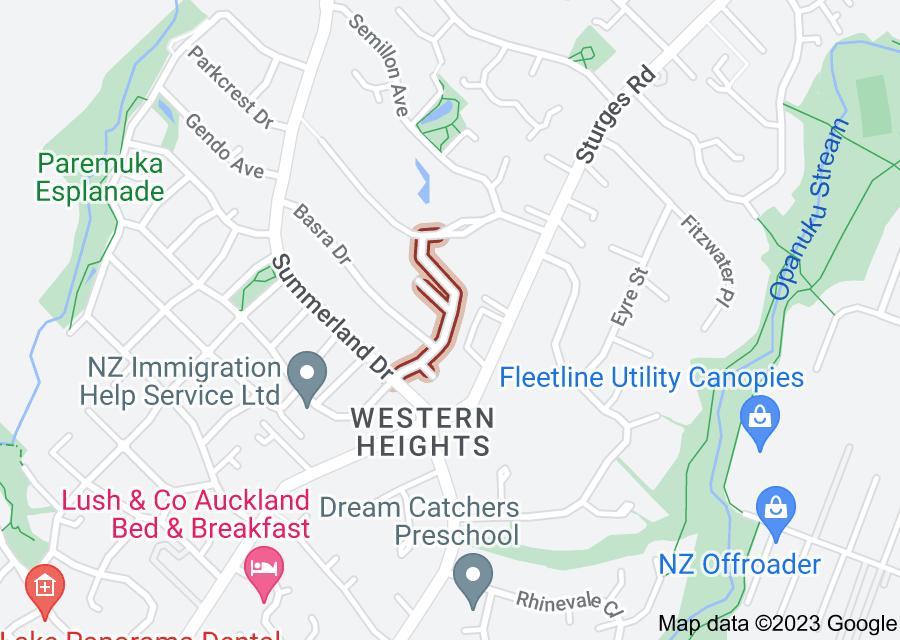 Location of Midhurst Avenue