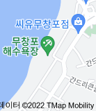 무창포해수욕장 지도