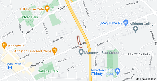 Location of Brough Road