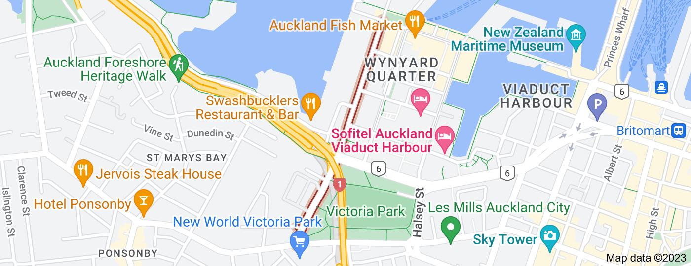 Location of Beaumont Street