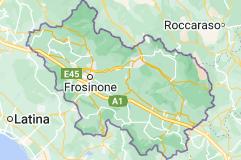 Mappa di: Provincia di Frosinone