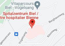 Location of Hospital Biel