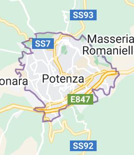 Mappa di: Potenza