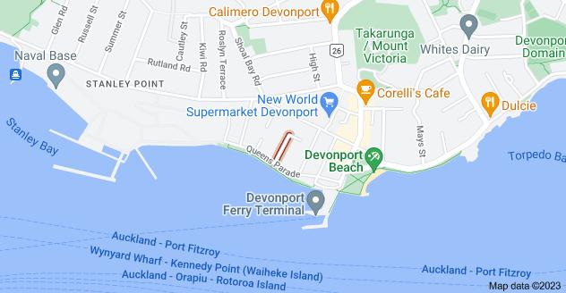 Location of Garden Terrace