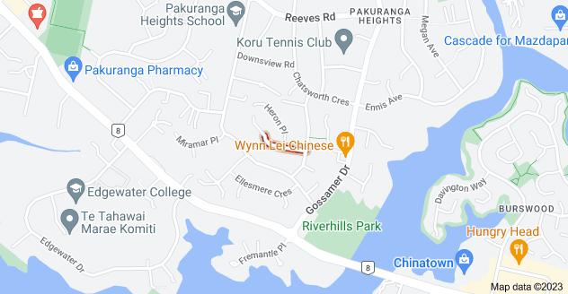 Location of Okareka Place