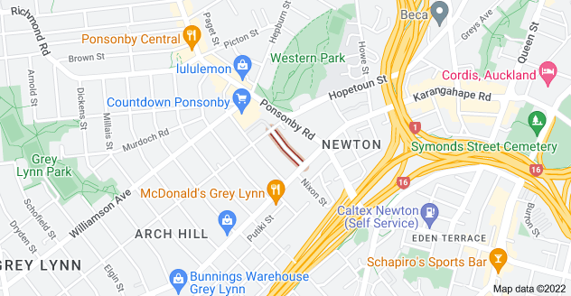 Location of Maidstone Street