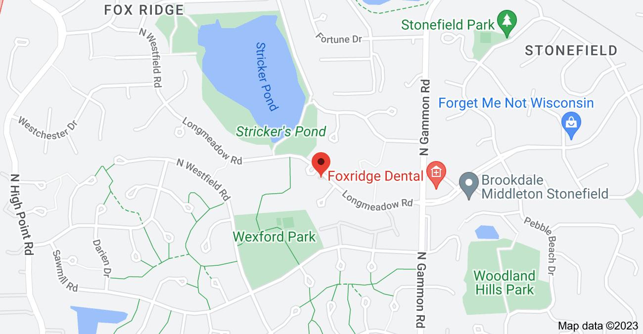 Map of 7201 Longmeadow Rd, Madison, WI 53717