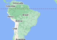 Location of Brésil