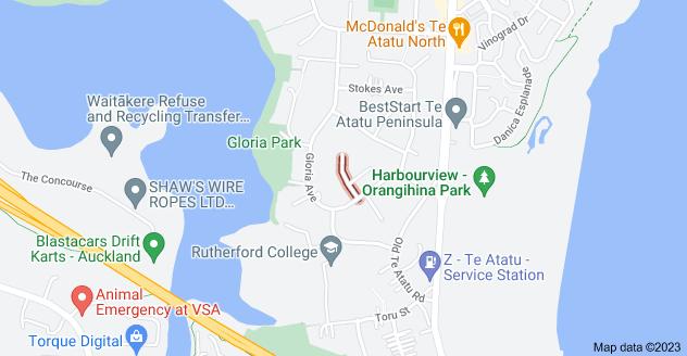 Location of Helga Crescent
