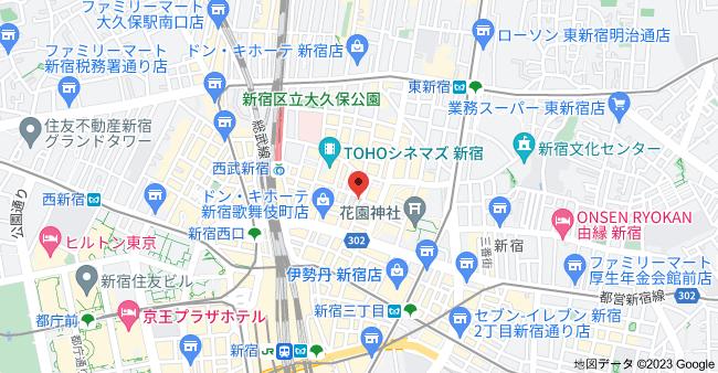 〒160-0021 東京都新宿区歌舞伎町1丁目8−3の地図