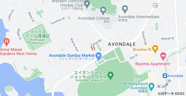 Location of ナウマイ・ストリート