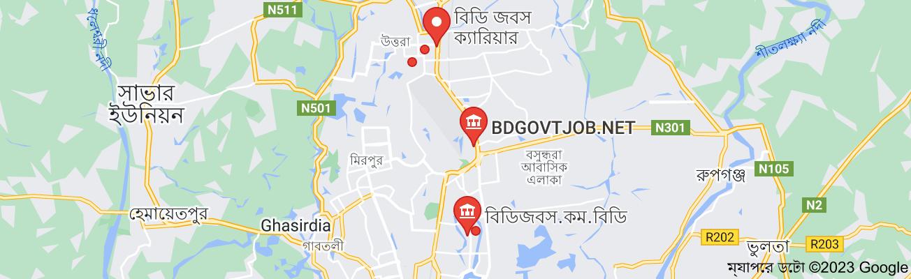 BD job এর ম্যাপ