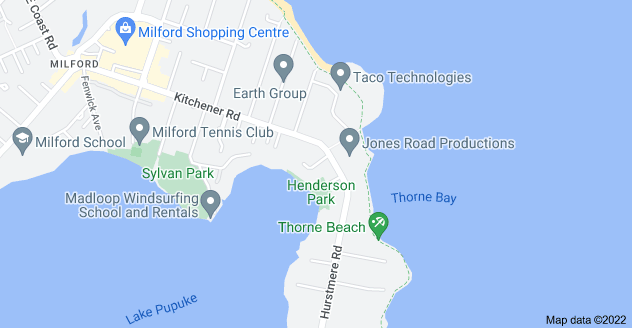 Location of Eric Price Avenue