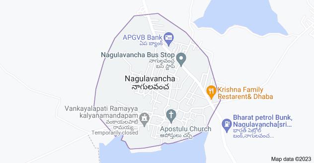 Map of Nagulavancha, Telangana 507208