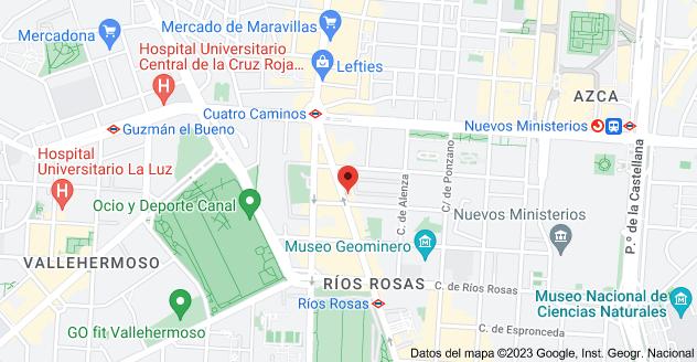 Mapa de Calle de Sta Engracia, 144, 28003 Madrid