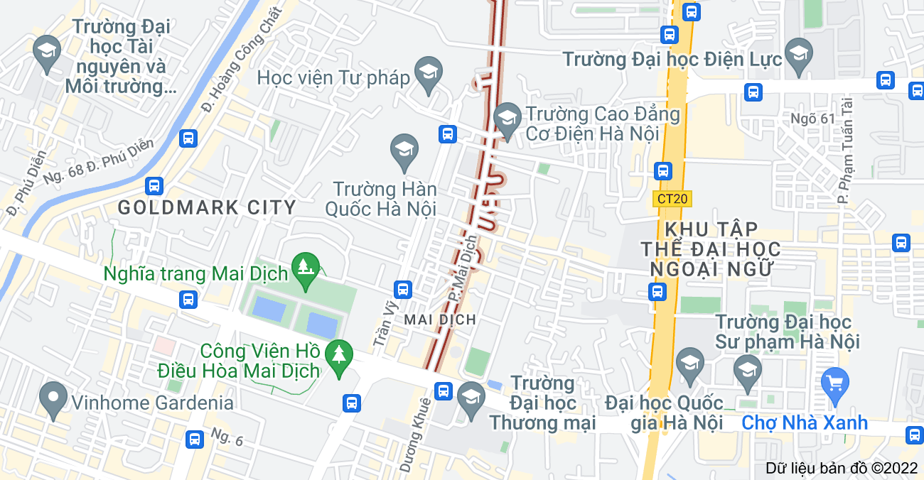 Bản đồ của Phố Mai Dịch, Mai Dịch, Cầu Giấy, Hà Nội
