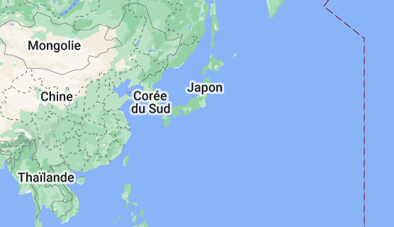 Japon: carte