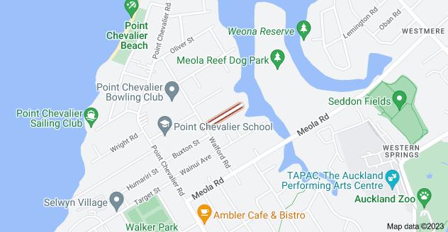 Location of Newell Street