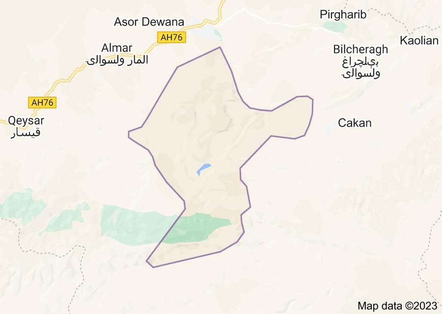 Location of Pashtun Kot