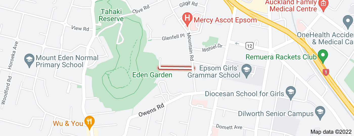 Location of Omana Avenue