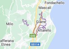 Mappa di: Giarre