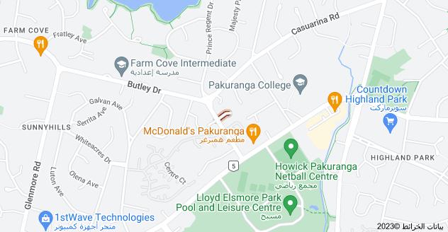 Location of Nassau Court