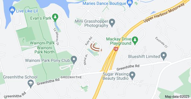 Location of Ashurst Lane