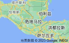 Location of 危地马拉