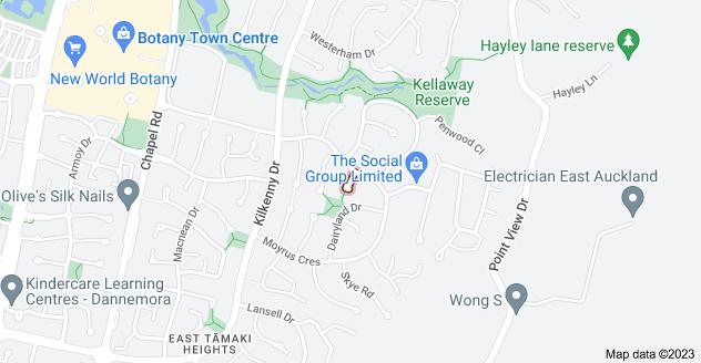 Location of Gilnockie Close