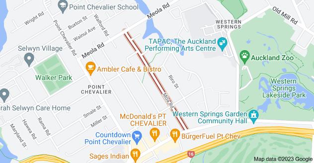 Location of Moa Road