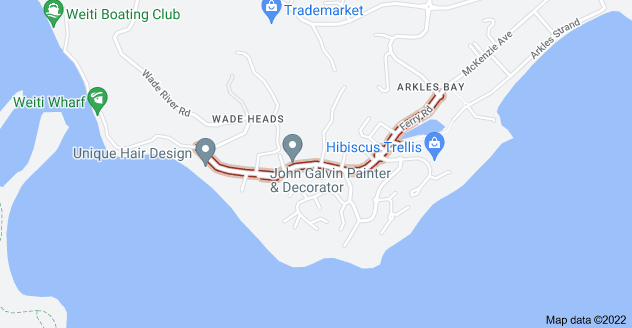 Location of Ferry Road