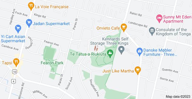 Location of Churches Avenue