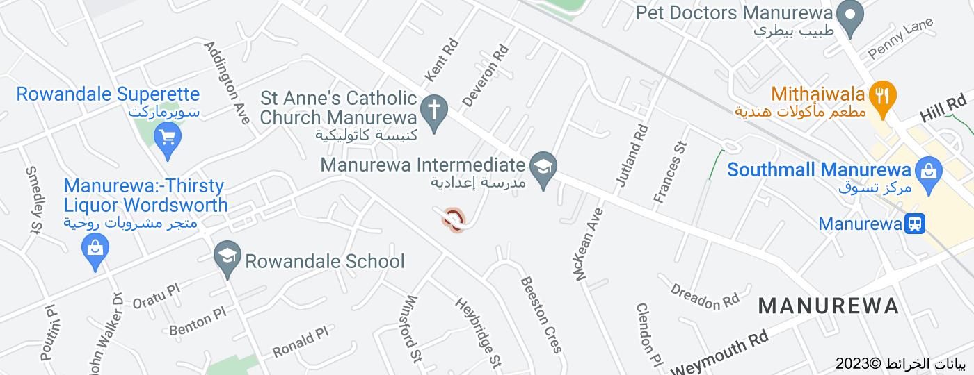 Location of Montilla Place