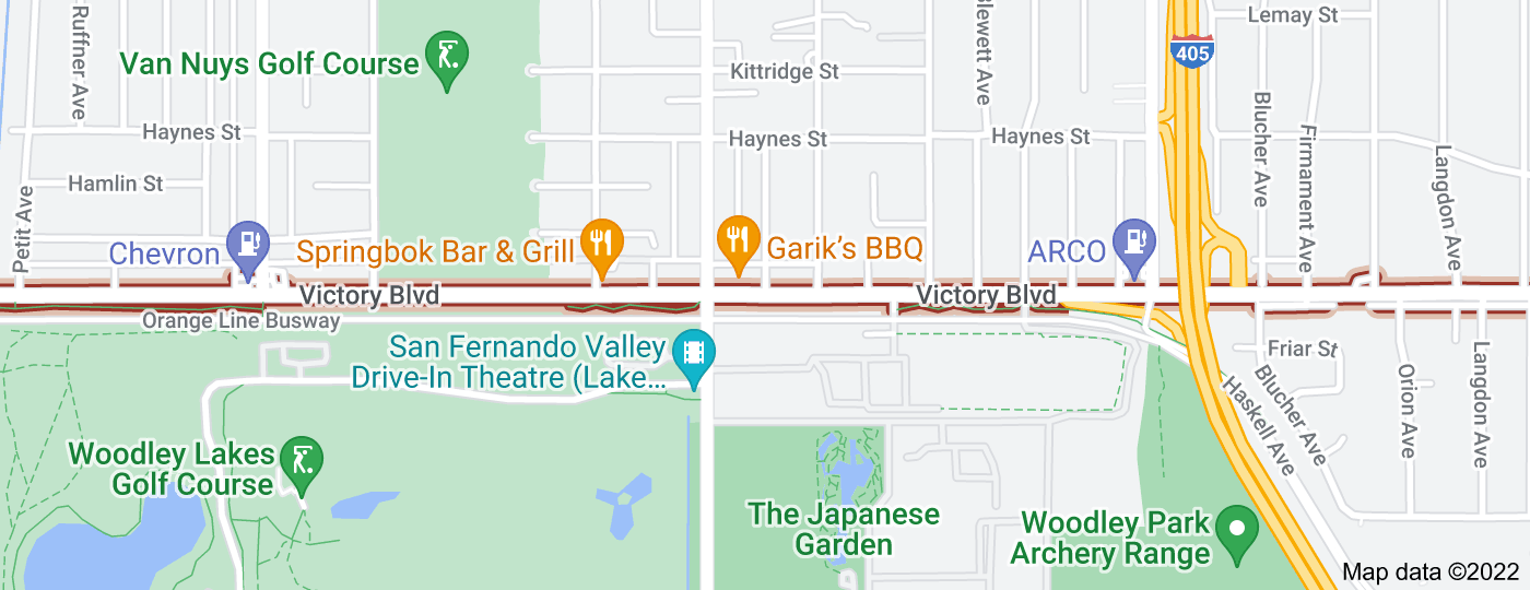 Location of Victory Boulevard