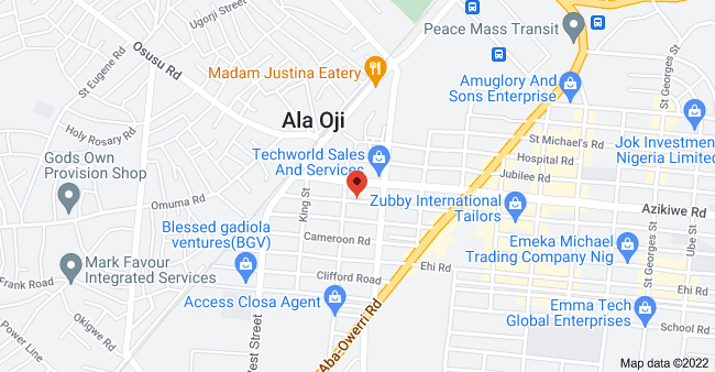 Map of 38 Market Rd, Aba, Nigeria