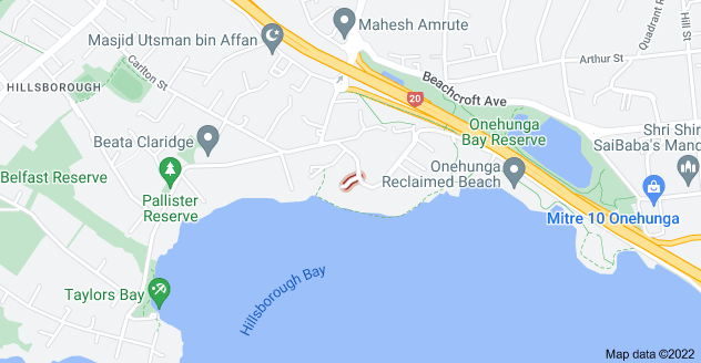 Location of Bamfield Place